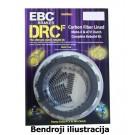 DRCF Carbon Fiber Clutch Kit EBC-DRCF131
