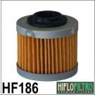 HIFLO FILTRO фильтр масляный HF186