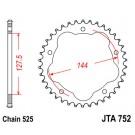 Žvaigždė JT (JTA 752-38, aliumininė)