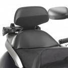 GIVI Backrest Honda 600 Sil.Wing